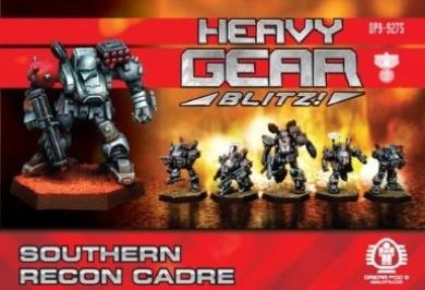 Heavy Gear Blitz: Southern - Recon Cadre