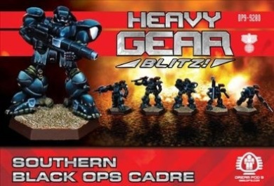 Heavy Gear Blitz: Southern - Black Ops Cadre