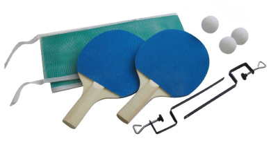 Table Tennis Set, Includes Paddles, Net, Posts and Balls