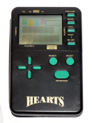 Hearts Classic Card Games Electronic Handheld Travel Game