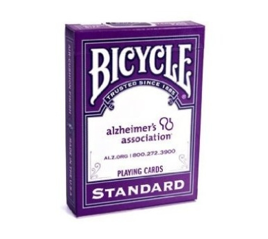 Bicycle Alzheimer's Association Playing Cards