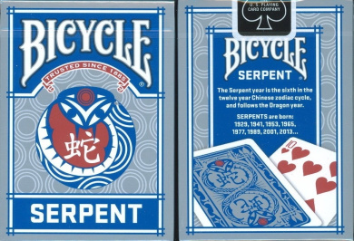 Bicycle Serpent Playing Cards