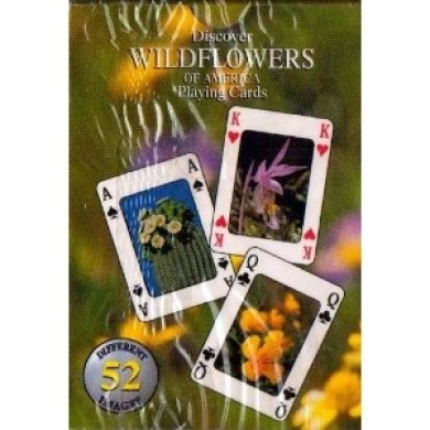 Discover Wildflowers of America Playing Cards