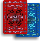 Canasta Clásico Playing Cards - Deluxe Edition - Includes 1 Single Deck of Cards