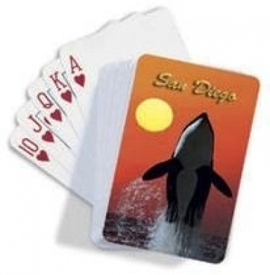 Hawaiian Playing Cards Killer Whale