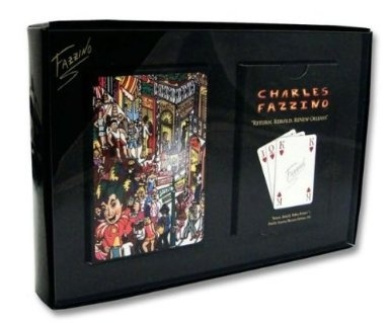 Charles Fazzino PLAYING CARDS Return, Rebuild, ReNew Orleans- [Two Decks of Playing Card]