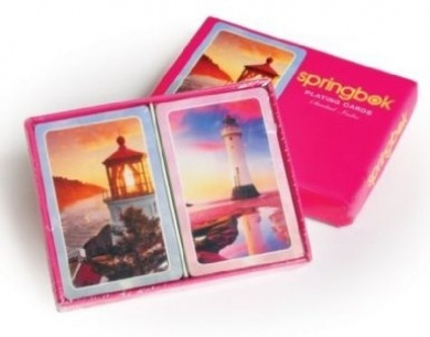 Morning Light - Double Deck Standard Index Playing Cards by Springbok