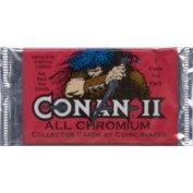 Conan Series II All Chromium Factory Sealed Trading Card Pack