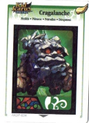 Kid Icarus Uprising AKDP Cragalanche Gold Wing Rare Card [Toy]