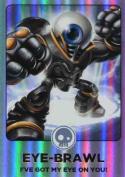 Skylanders Giants #171 Eye-Brawl Rainbow Foil Trading Card