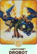 Skylanders Giants #156 Drobot Rainbow Foil Trading Card