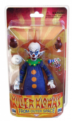 "Monsters/Horror Amok Time Killer Klowns From Outer Space ""Tiny"" Deluxe Action Figure"