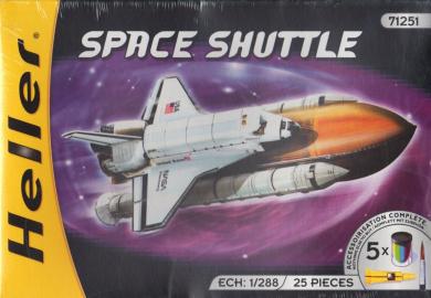 HEL71251 1:288 Heller Space Shuttle MODEL KIT