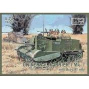 IBG Models 1/72 Universal Carrier I Mk I with Boys Anti-Tank Rifle