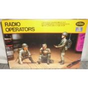 #846 Testors Italeri Radio Operator 1/35 Scale Plastic Model kit,Needs Assembly