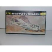 """Heller """"German WW II Focke Wulf Fw 190 A8/F7.6cm Plastic Model Kit"""