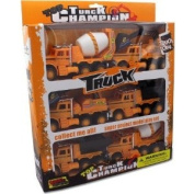 Friction Powered Construction Trucks - Case of 12