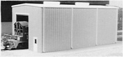 Pikestuff HO Modern Small Engine House Kit