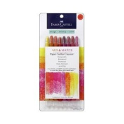 Paper Crafter Crayons 8/Pkg-Red/Yellow