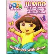Dora the Explorer Jumbo Colouring & Activity Book