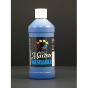 Rock Paint- Handy Art RPC211730 Little Masters Blue 16Oz Washable Paint