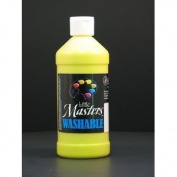 Rock Paint- Handy Art RPC211710 Little Masters Yellow 470ml Washable Paint