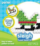 Perler Beads Fused Bead Kit - Sleigh