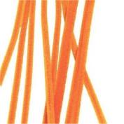 100 Orange Chenille Stems
