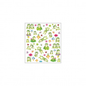 Multi-Coloured Stickers-Spotted Frogs