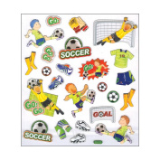 Multi-Coloured Stickers-Soccer 129869 Notions - In Network