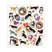 Multi-Coloured Stickers-Huskies 129884 Notions - In Network