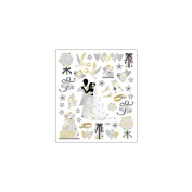 Multi-Coloured Stickers-Wedding Dance 129872 Notions - In Network