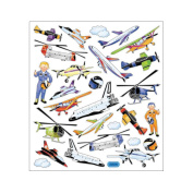 Multi-Coloured Stickers-Aviation