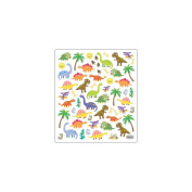 Multi-Coloured Stickers-Dinos