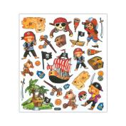 Multi-Coloured Stickers-Pirate Boys