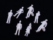 Model Train People Figures -100Pcs