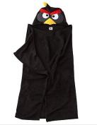 Angry Birds Hooded Towel - Black