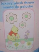 Disney Baby Pooh & Piglet Luxury Plush Throw