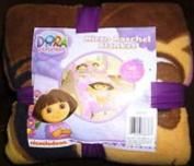 Dora Rocks Micro Raschel Blanket