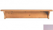 Little Colorado 1230LAVNC Wall Shelf without Pegs - No Cutout in Lavender