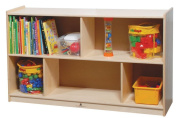 Steffy Wood Products 30cm by 80cm Single Mobile Storage