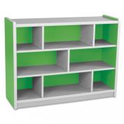 Balt Kids Storage Compartment, 120cm by 39cm by 90cm , Green