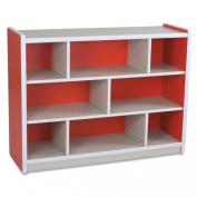 Balt Kids Storage Compartment, 120cm by 39cm by 90cm , Red
