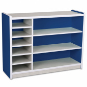 Balt Kids Storage Rack, 120cm by 15-/5.1cm by 90cm , Royal Blue