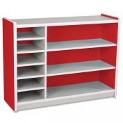 Balt Kids Storage, 120cm by 15-/5.1cm by 90cm , Red