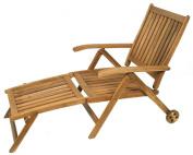 Ivena International IVN00496 Napoli Deck Chair