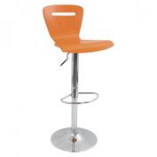 Lumisource BS-TW-H2 O H2 Bar Stool Orange - Orange