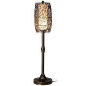 Patio Living Concepts 68277 Bristol 147.3cm Floor Lamp Walnut Shade in Bronze