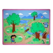 Dora the Explorer Adventure Game Rug