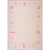 Joy Carpets Polka Dot ABCs© Rectangular